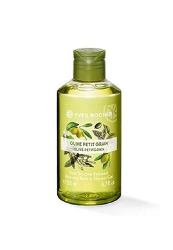 Yves Rocher green Yves Rocher Olive Petit Grain Shower Gel 200ml YV348BE0RW39MY_1
