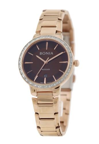 BONIA gold Bonia - BR160-2542S - Jam Tangan Wanita - Rosegold F73AFACF5C70E1GS_1