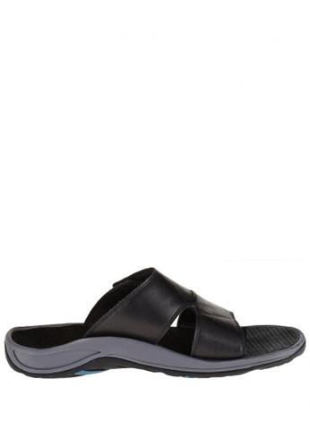 Vionic black Jon Slide Sandal VI552SH89PEWPH_1