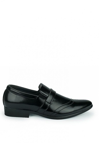 Cardam's Lifestyle black Hubert Formal Shoes 42A53SH96E1FB5GS_1