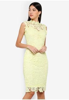 b1e4a154e01b29 Lemon Crochet Dress 095ADAA80A3516GS 1