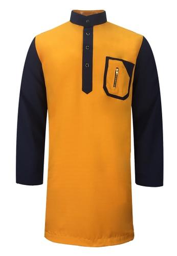 Pacolino yellow Baju Kurta Muslim For Kids - EK1705 (Yellow) 84C48KAD64DEE3GS_1