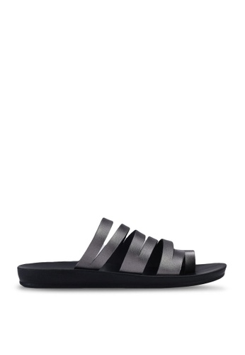 NOVENI black Multi Strap Sandals 609C1SHB381F74GS_1
