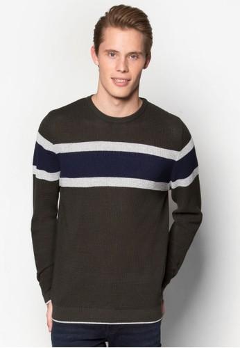 條紋針織長袖衫、 服飾、 服飾RiverIsland條紋針織長袖衫最新折價
