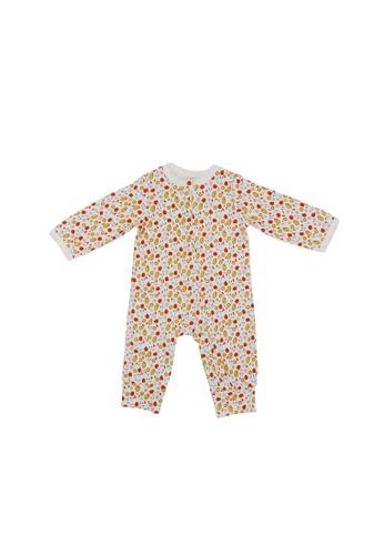 Baby Lovett multi Spot The Ladybird Two-Way Zipper Suit 6B5E7KA6B94FEDGS_1