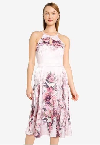 CHI CHI LONDON pink Chi Chi Raeane Dress 5A2E4AA0176A24GS_1