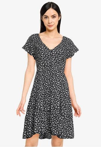Hollister black Short Woven Dress 699C2AA1594208GS_1