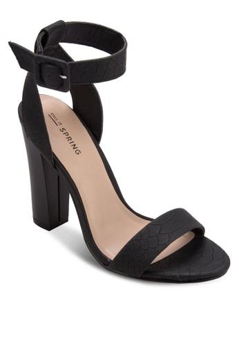 Gallipeau 粗跟高跟鞋, zalora 心得女鞋, 細帶高跟鞋