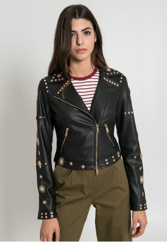 c8d183f30ef496 Buy SILVIAN HEACH Jacket With Gold Studs