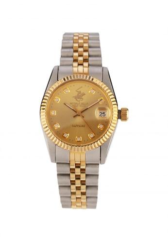 BEVERLY HILLS POLO CLUB gold BHPC-506L BIC GLD Watch 5EC25AC213875EGS_1