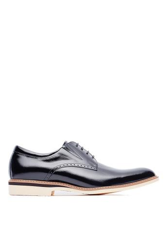 Life8 black Mens Formal Leather Shoes-09586-Black LI283SH0FFG9SG_1