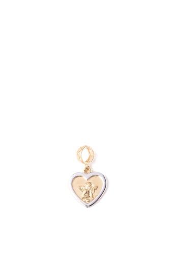 Lavaliere Jewelry Shop gold Pendant Angel Inside A Heart LA066AC70ZHDPH_1