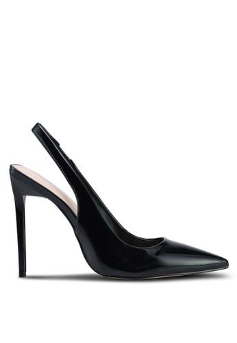 ALDO black Haughton Slingback Heels 2B965SH5AB2CF1GS_1