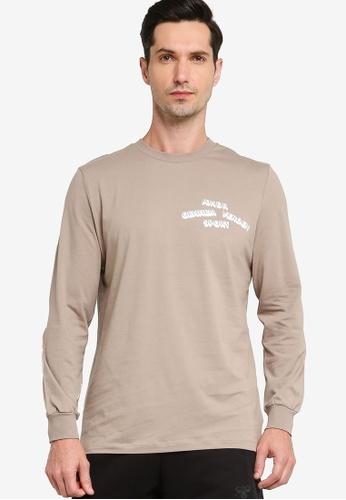 Hummel 褐色 Hummel Zone T恤 19845AAB8271A9GS_1