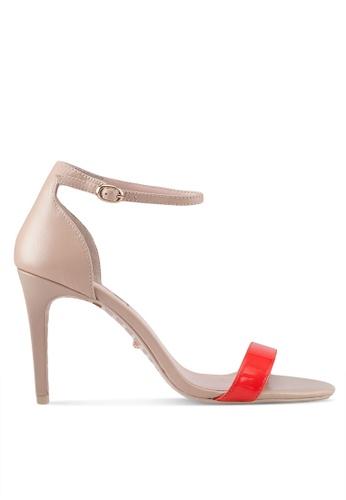 Dune London orange Strappy Heels 2A30ASH5CF916AGS_1