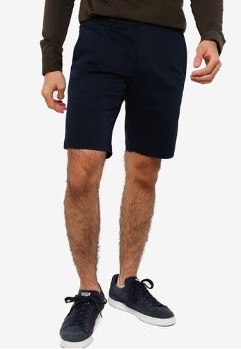 BOSS navy Liem4-9 Shorts - BOSS Men 12311AA4281A46GS_1