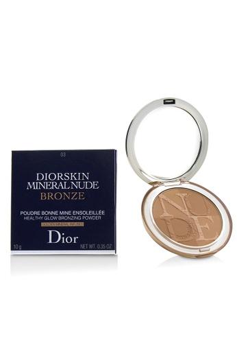Christian Dior CHRISTIAN DIOR - Diorskin Mineral Nude Bronze Healthy Glow Bronzing Powder - # 03 Soft Sundown 10g/0.35oz 0980BBE193F1BDGS_1