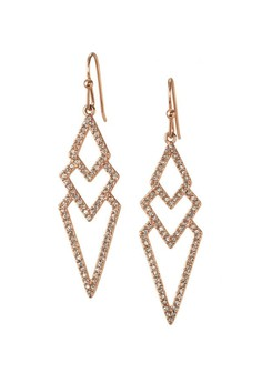 Stella and Dot Pave Spear Earring