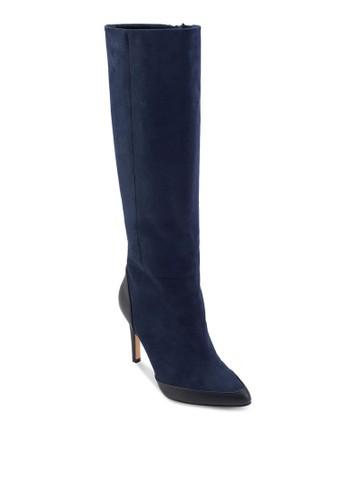 高跟仿麂皮高筒靴, 女esprit門市地址鞋, 靴子