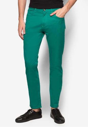 低腰彈性esprit 京站長褲, 服飾, 直筒褲