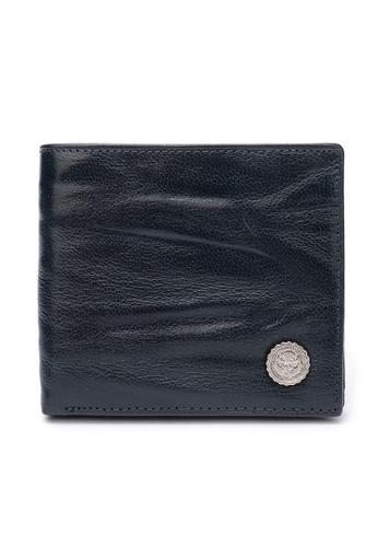 DUSTY blue Wrinkle Midia Wallet F0738AC2C3E317GS_1