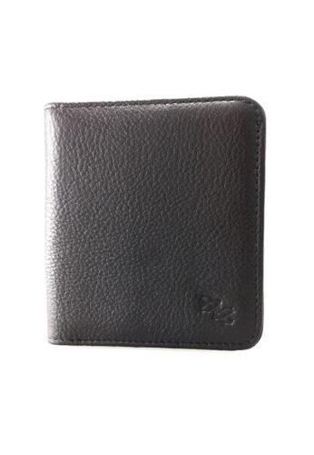IXACC black Leather Mini Wallet IX982AC85TESPH_1