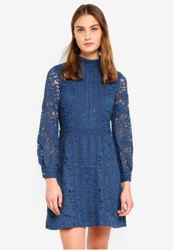 ESPRIT blue Light Woven Mini Dress E4805AA9792754GS_1