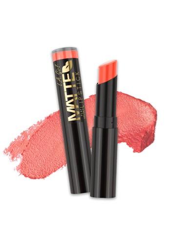 L.A Girl beige La Girl Matte Flat Velvet Lipstick Sunset Chic E8B42BE3F3D928GS_1