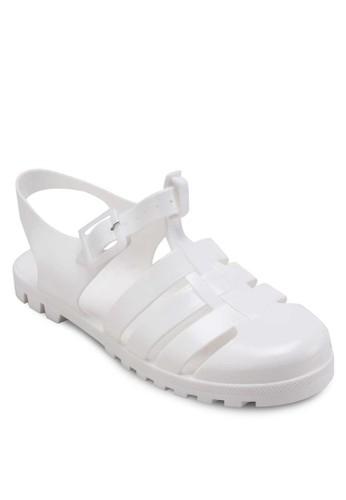 Lovely 護趾繞踝涼鞋, 女esprit tw鞋, 鞋
