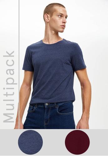 DeFacto multi Man 2 Piece T-Shirt Set 31894AA54286BFGS_1