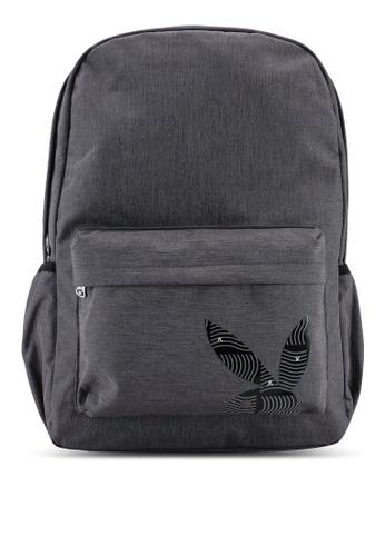 Playboy grey Playboy Backpack 9893CACB10D922GS_1