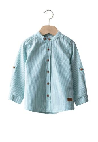LC Waikiki green Baby Boy Shirt 98223KABB2F84DGS_1