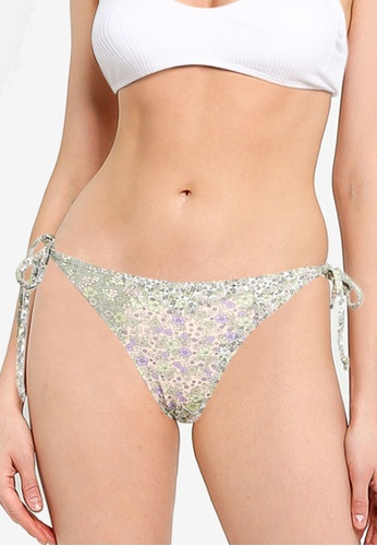 Cotton On Body multi Tie Side Hipster Cheeky Bikini Bottoms CF7E2USBD81B28GS_1