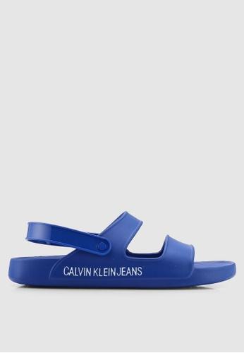 Calvin Klein blue Patton Sandals B3295SHD87719DGS_1