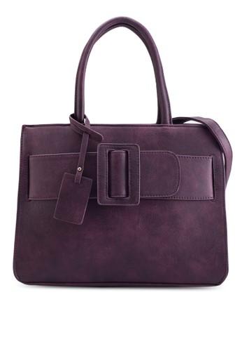 立esprit 台中體扣環手提包, 包, 手提包