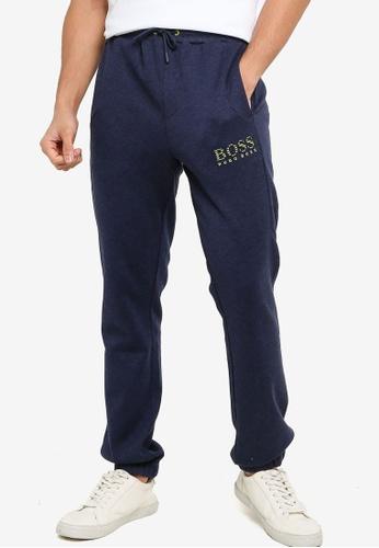 BOSS navy Hadiko Drawstring Pants A2F2CAADB2133BGS_1