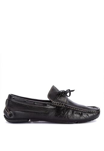 G&G black Formal Slip On Shoes 293A1SHF6B59A9GS_1