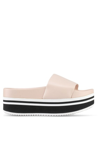 ALDO pink Doemma Wedge Sandals 5B4D4SHC429C30GS_1