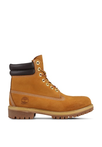 Timberland brown 6 Inch Premium Waterproof Boots 5266CSH73D2AE9GS_1
