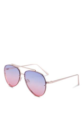 e4c9a7c2572d0 ALDO blue Olavia Aviator Sunglasses 0448DGL6D9C54BGS 1