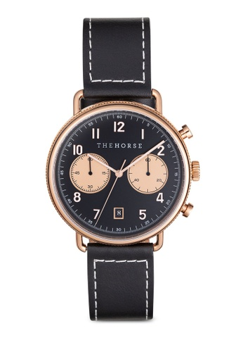 The Horse black and gold The Time Writer Chronograph Watch 04DECAC5D328C7GS_1