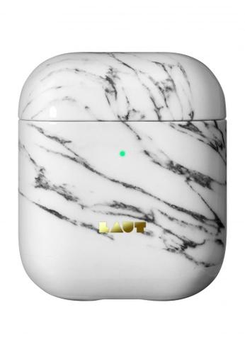 LAUT white Heux Element AirPods Case 49CE7ESB918391GS_1
