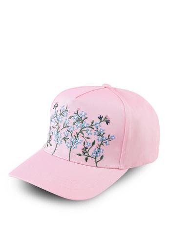Esprit pink Floral Cap EEC7DAC78F8C87GS_1