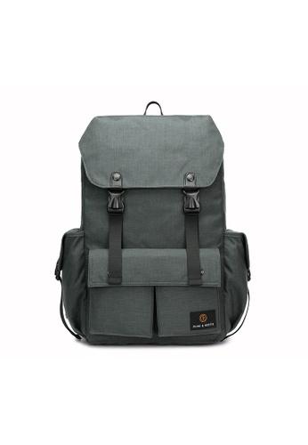 The Dude grey Predator Backpack TH373AC66BUZHK_1