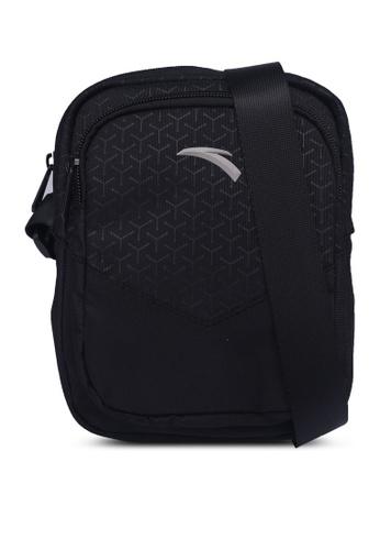 Anta black Sports Classic Satchel Bag FB274AC034530AGS_1