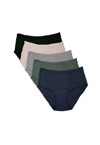 quite nice popular stores outlet store Panty Pack Ribbed Cotton BoxShort