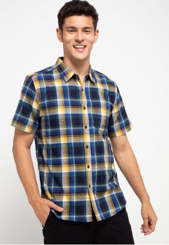 OLLten blue O/L-Men Shirt 109B7AA6CFC700GS_1