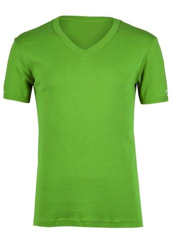 Nukleus green The Bintangor Tee NU951AA73AGCMY_1