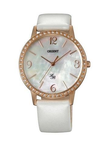 Orient white Orient Women Quartz ORFQC0H002W Genuine Leather Watch 5E48FAC8CA2877GS_1