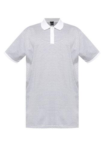 BOSS white Parlay Polo Shirt F4F48AA924A00BGS_1